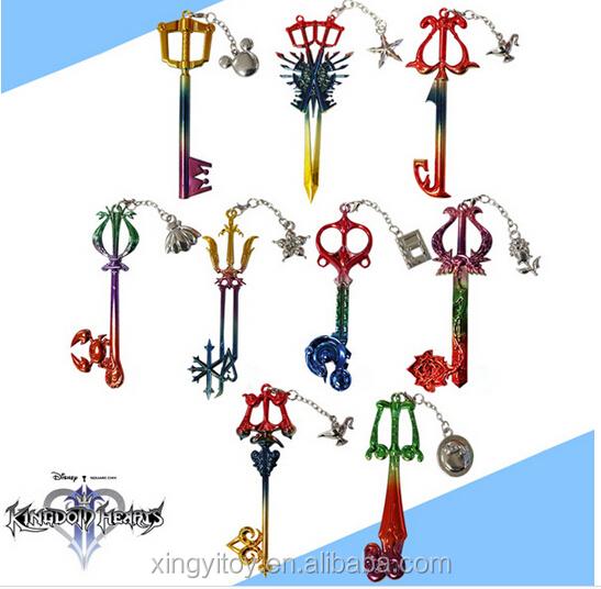 Japonés Reino Corazones Ii Sora Crabclaw Keyblade Hoja Clave Cosplay ...