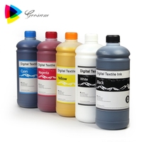 Water Based DTG Ink White Textile Pigment Ink for Epson 1390 1400 L1800 Printer