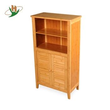 Vanity Bamboo Bathroom Storage Cabinet