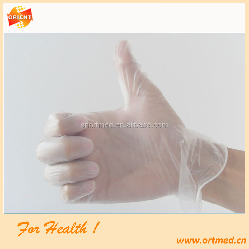 Vinyl Disposable Exam PVC gloves