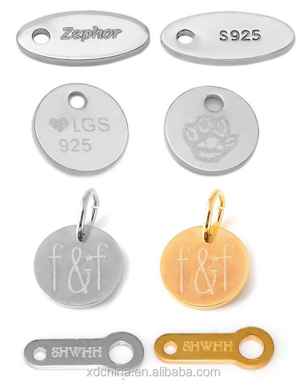 Personalized Jewelry Tags
