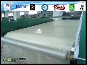 White SBR material Food Grade FDA rubber sheet 3-50mm thick rubber sheet manufacture in Sanhe Great Wall