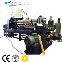 LingHua PE PP recycling pelletizing machine to heat and melt plastic
