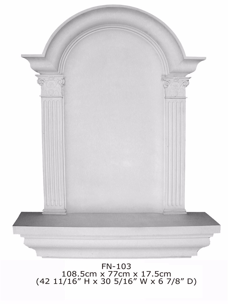 Polyurethane Niches Crown Moulding Good Price Beautiful New Modern ...