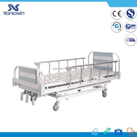 Useful manual patients metal cold rolled steel bed