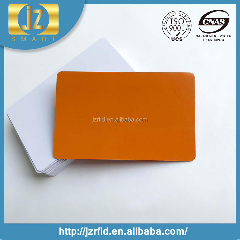 Low Cost Customized Hico magentic stripe blank pvc card