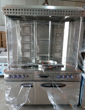 Hot Sale Commercial Electric or Gas Kebab Equipment Chicken Shawarma Machine