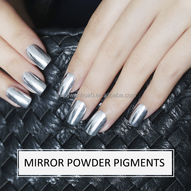 Silver Chrome Nail Polish Powder – Papillon Day Spa