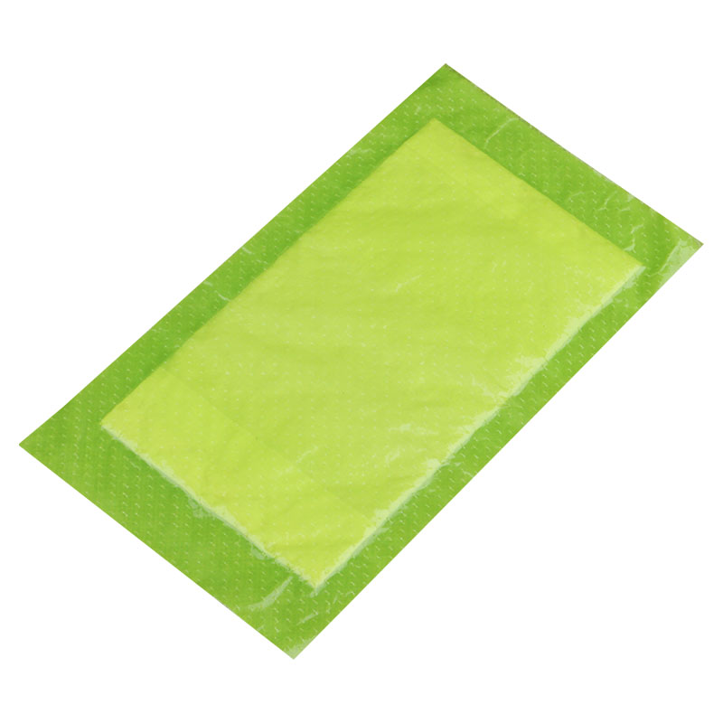 170mm X 100mm Verde Usa E Getta Cibo A Base di Carne di Sangue di Acqua Assorbente Pad