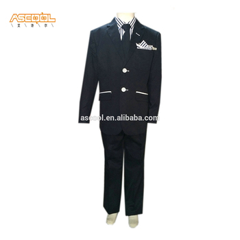 Anti-Static 100% Polyester Children 4 pcs sets Suit(2-14Years)