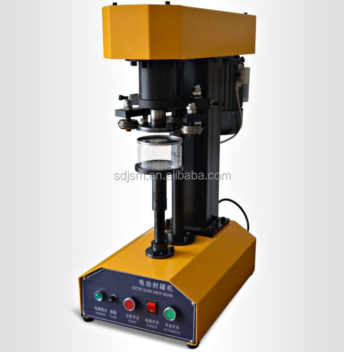 Easy open can sealer machine / Metal tin can seaming machinery / Can Lid Sealing Machine