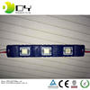 Waterproof 3 chips high lumen 5 smd led module 3528 5050 3 chips 3leds/pc 12v for luminous words