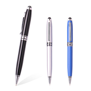Free sample custom tablet touch pen active promotional gift metal stylus pen