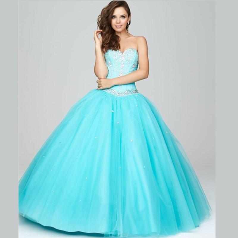 dfbe835833 ... Vestidos De 15 Anos Turquesa  Vestidos Azul Turquesa Baranos