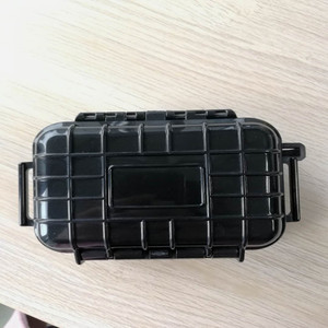 Customized small Multifunction plastic waterproof case fishing case instrument tool box