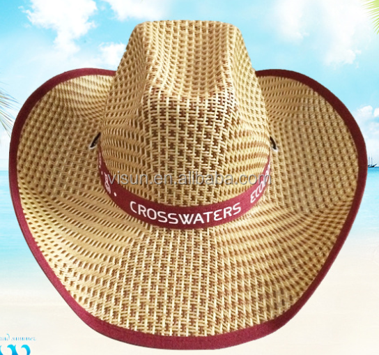 93dea30c0 Top Sale Farmers Wholesale Cowboy Mexican Sombrero Hat Wide Brim Grass  Straw Hats - Buy Wide Brim Grass Straw Hats,Hand Braid Straw Hat,Wide Brim  ...