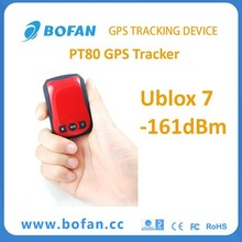 Bofan Mini Personal Hidden GPS Tracker PT201 With Man Down Alarm For Old People And Children