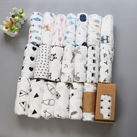 2018 Newest design professional adjustable breathable ideal newborn infant baby 100% cotton muslin swaddle wrap blanket