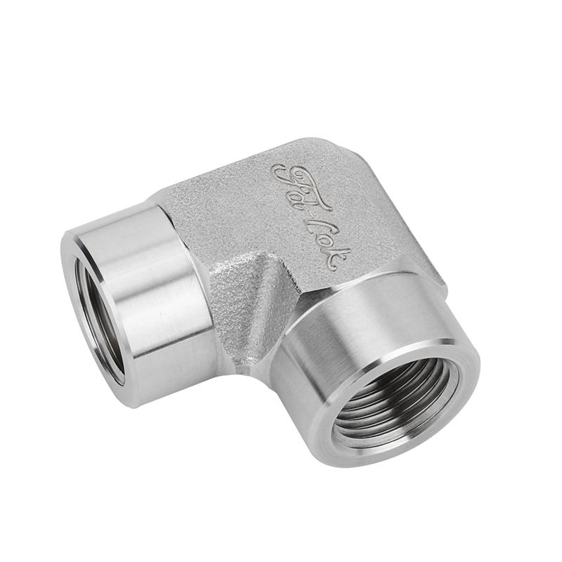 High Pressure Stainless Steel 90 Degree Female Elbow