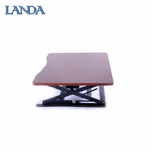 Office furniture wooden height adjustable reading table student writing desk