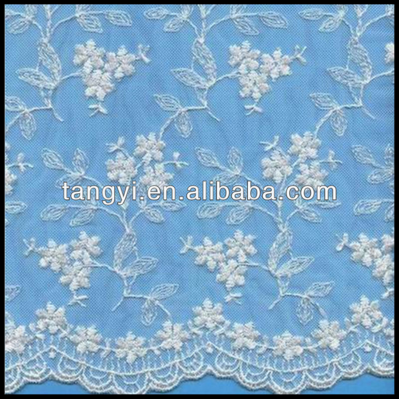 Buy Allover Sequin Embroidery Lace fabric Design in China on ...