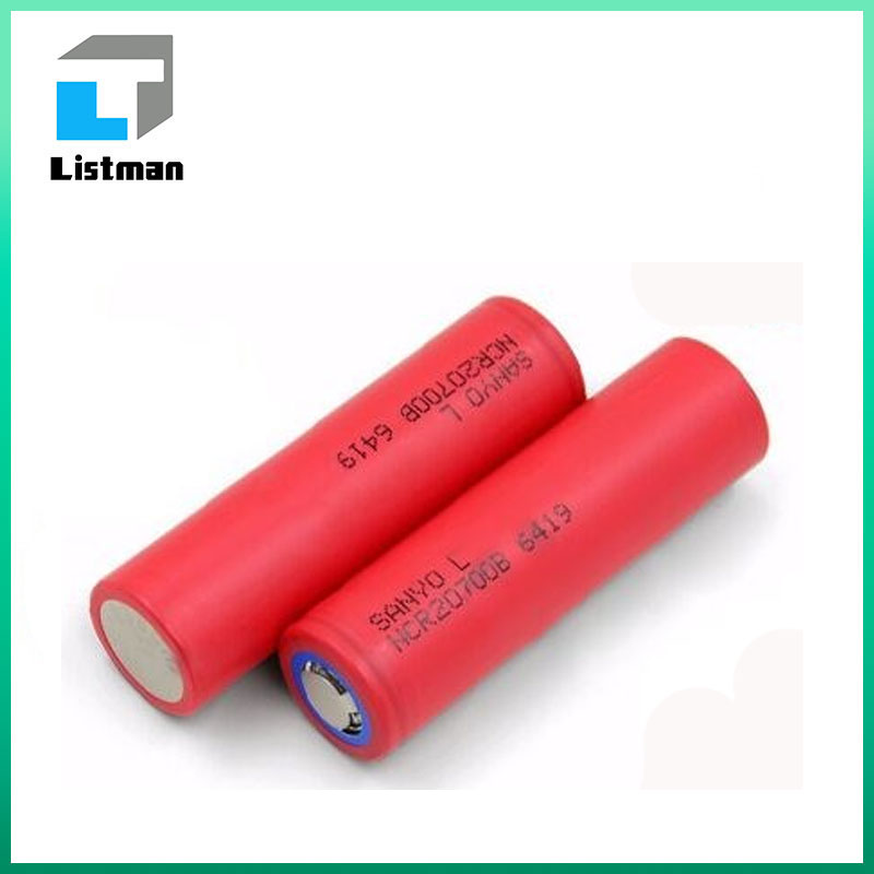 4250mAH 12Amps 20700 ecig battery ncr20700b rechargeable battery/12A discharge li-ion rechargeable battery cell NCR20700B