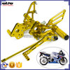 ARS-K6 Customized CNC Aluminium Racing footrest peg motorcycle for Suzuki GSXR 600/750 06-09