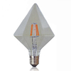 Vintage Transparent Glas Filament Edison Design Dimmable LED Bulb 2000K 6000K White Yellow Lights for Electric E26 Lamps