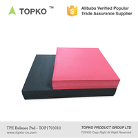 2017 TOPKO Wholesale Gym Fitness Customized Sizes non Slip TPE Balance Pad