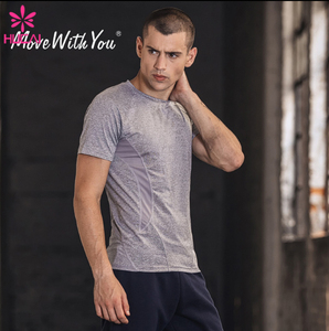 Custom Men's Gym Doublet Sport T-shirt Fitness Quick Dry Gym Clothing