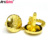 Plated Gold Promotion metal cheap custom luxury cufflinks