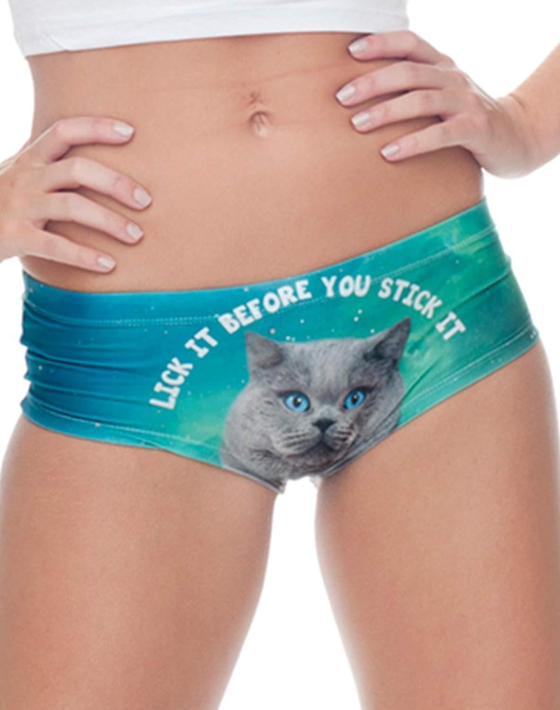 3cd0b810d38 Funny Flirty Fashion Naughty Panties Animal Print Cute Sexy Fun Lingerie  Gifts for Women