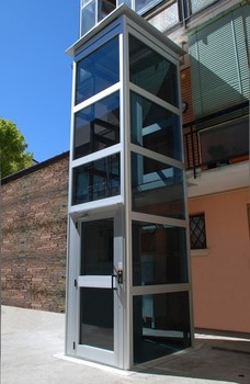 Otse latest design stable running small mini home lift for Small elevators for homes