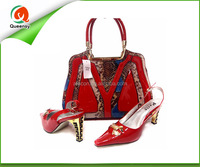 TSB312-1Cheap Wholesale Matching Italian Shoe And Bag Set