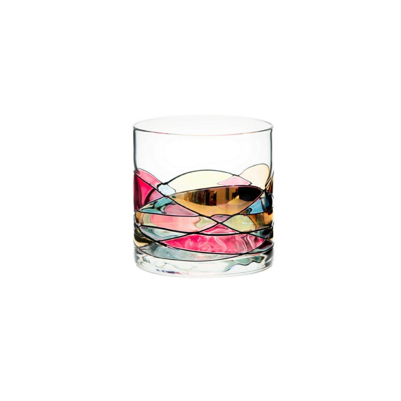 e6cdd8da69b Get Quotations · ANTONI BARCELONA Whiskey Glass 12oz - Unique Lowball Glass