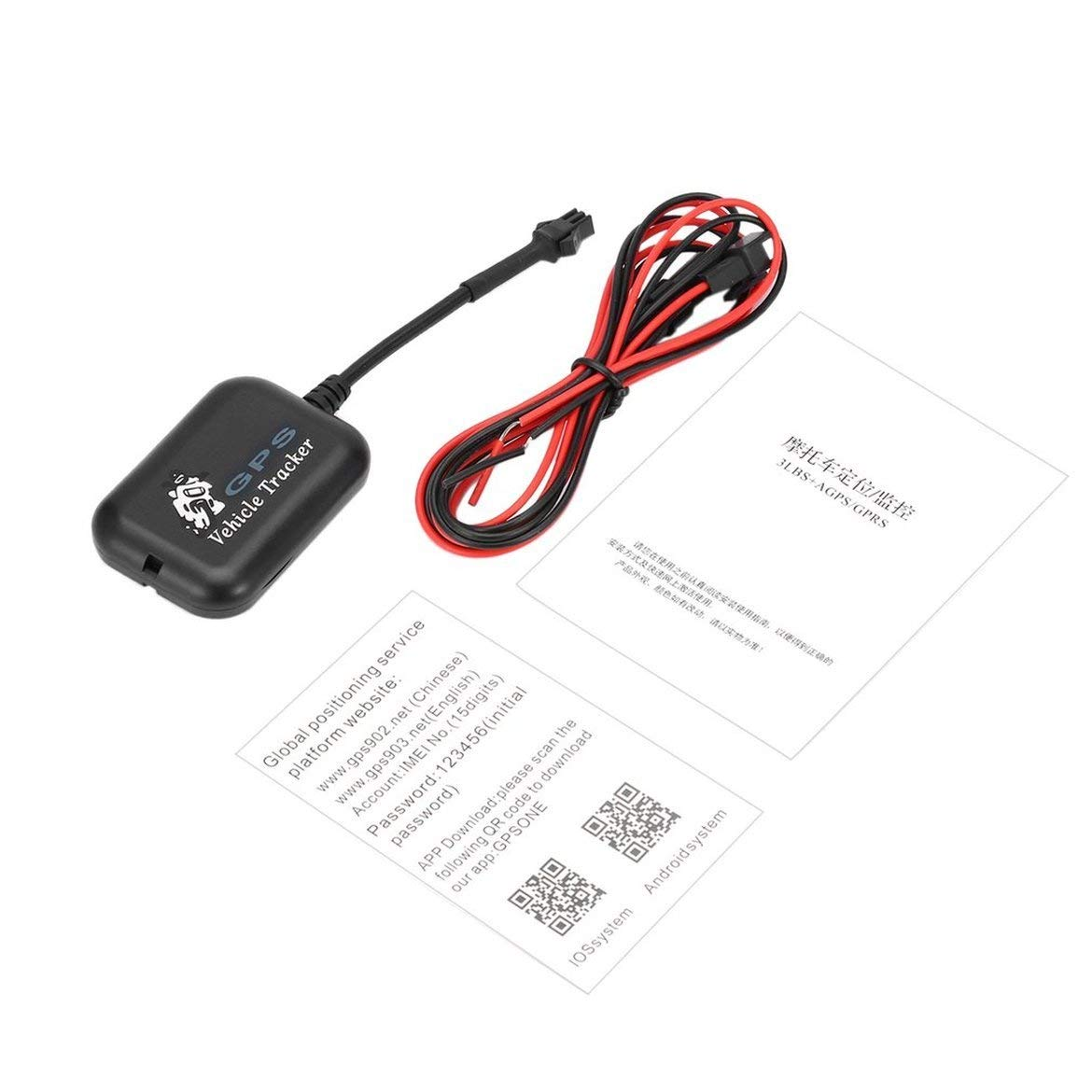 Mini GSM GPRS SMS GPS Tracker Quad-band Real Time Global Location Tracking Device for Car Vehicle Motorcycle Scooter