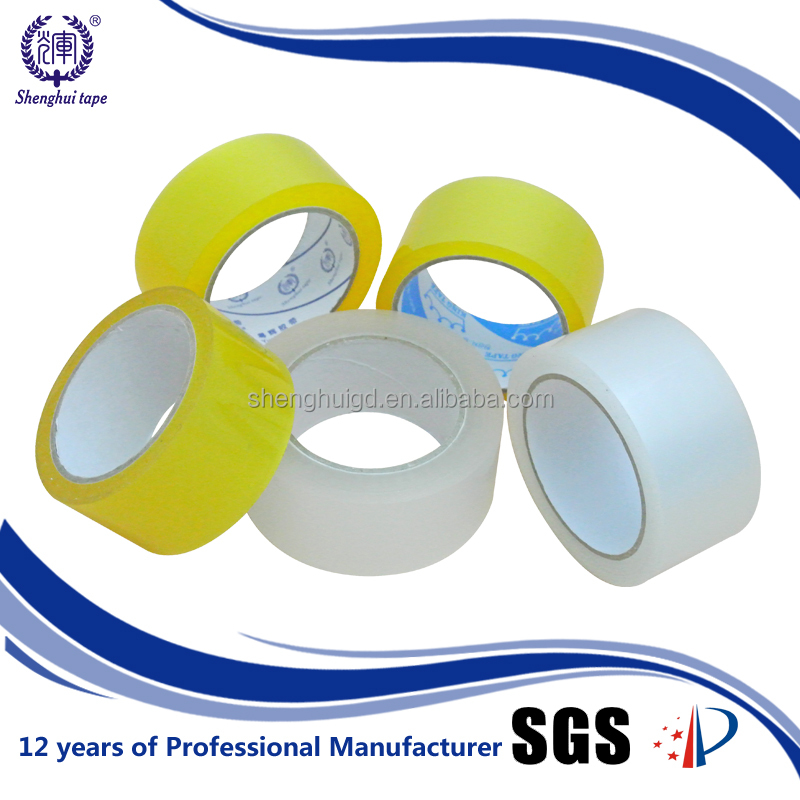Easy To Used Bopp Self Adhesive Round Transparent Measuring Tape