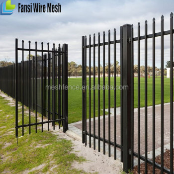 China Supplier Outdoor Decoration Application Forged Iron Fence