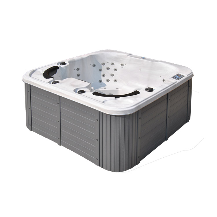Acryl outdoor 4 menschen balboa system hydro airs jets massage spa bad