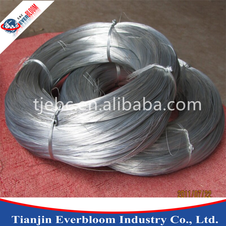 High tensile metal strand wire , Zn Coating metal wire