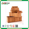 2016 new products slat style cheap wood fruit crates for sale in christmas made in china wood fruit box