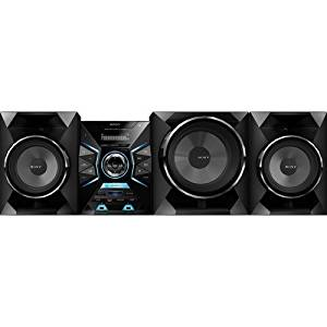 "Sony 1600 Watt Audio Hi-fi Surround Sound Stereo Shelf System with Cd Player, Digital Tuner Am/fm Radio Receiver with 30 Presets, 3-way Speaker System with 10"" Sub-Woofer, Bluetooth Audio Streaming with One-touch NFC Pairing, Dual Front USB Input for Mp3 Players and Flash Drives, Dual Rear Aux"