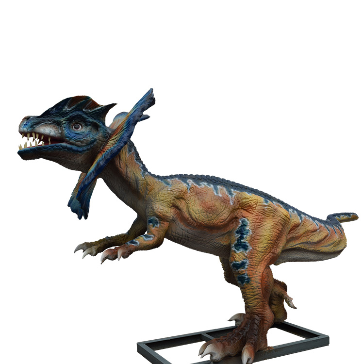 Life Size Animatronic video dinosaur fighting games