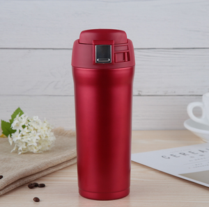 450ml Leakproof Vacuum Flask Insulation Cup Stainless Steel Car Thermos Cups Carry Travel Mug Termos Coffee Cup for Camping