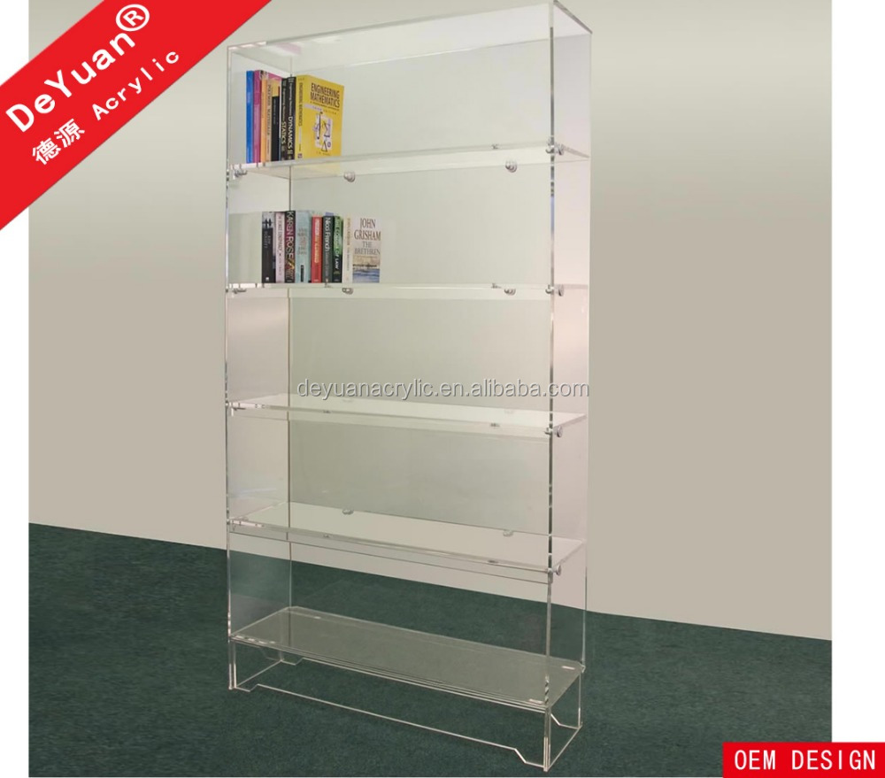 Detachable Study Room Acrylic Book Shelf for Book Collection