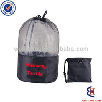 Wholesale nylon mesh shopping bag with low price and MOQ