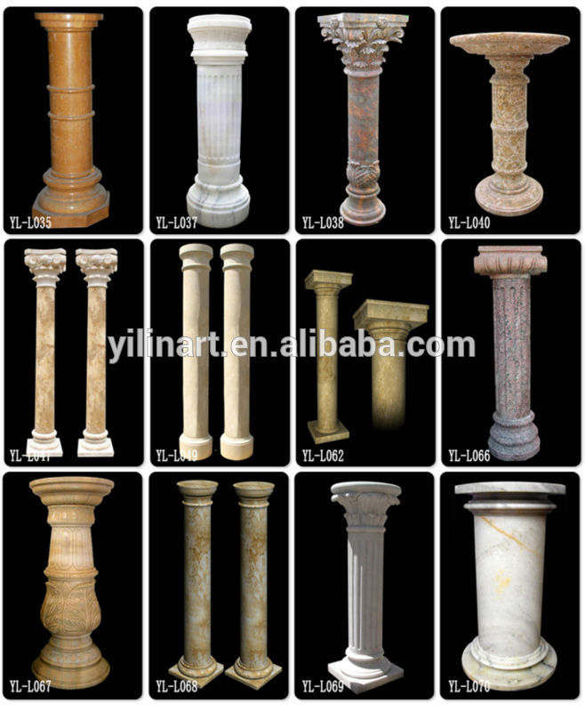 Awesome Indoor Decorative Columns Contemporary Interior