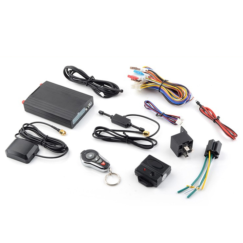 GPS Tracker Car Alarm App Tracking System with Immobilizer Bypass Function