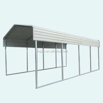Galvanized Metal Car Canopy / Rv Shelter - Buy Metal Two ...