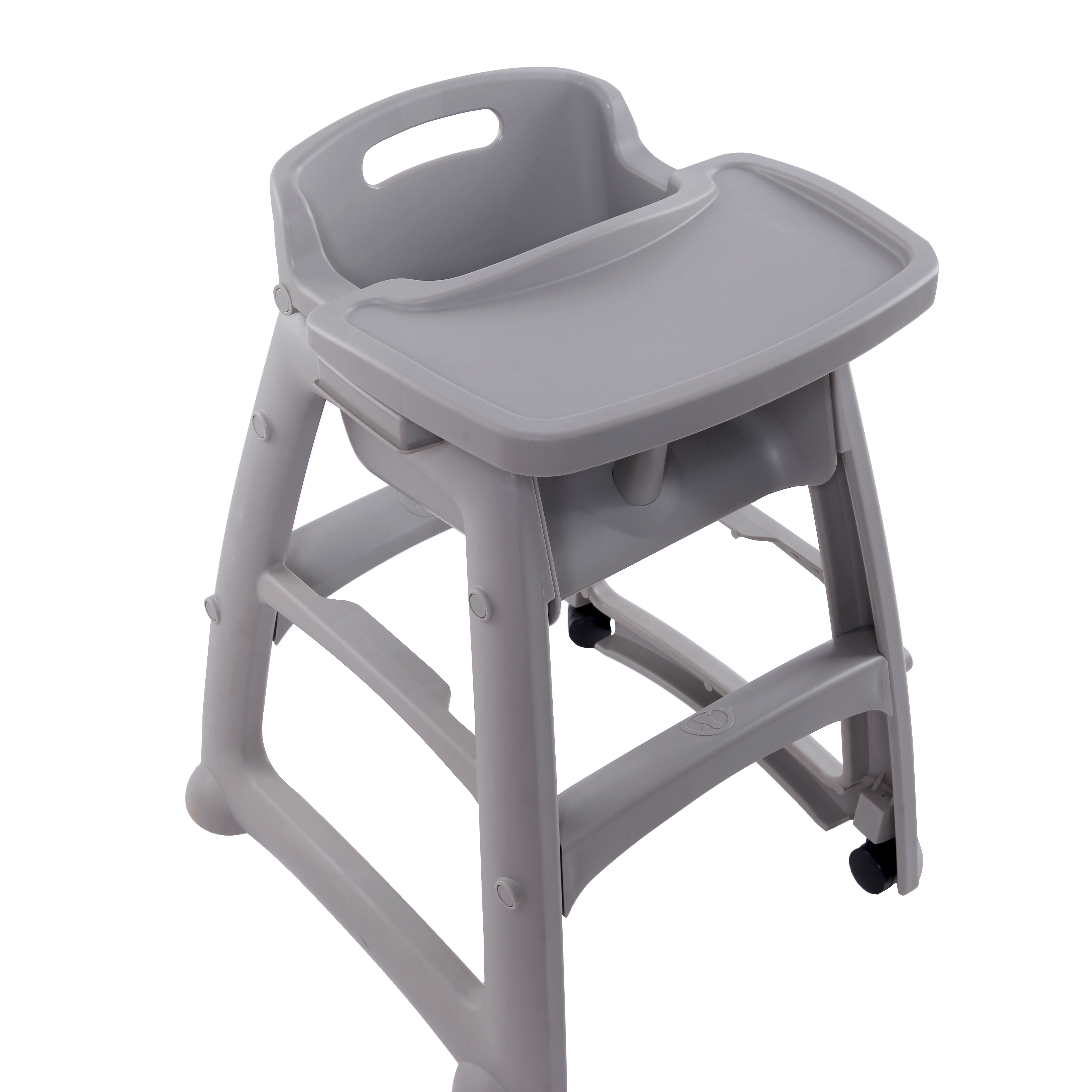 Inflatable Baby Booster High Chair Youth Seat With Wheels